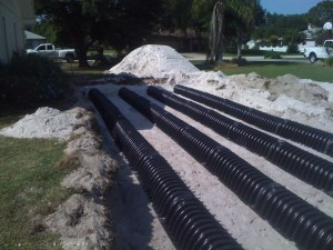 Drain Field Repair, Polk County, FL